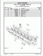 Caterpillar 966H Wheel Loader Parts Manual, spare parts