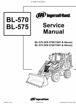 Bobcat Loaders Backhoes / Wheel Loaders, Service Manuals