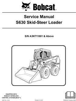bobcat loaders skid steer m series service manuals and operation click to view big picture in popup