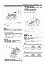Isuzu Engine 4HK1, 6HK1 models, repair manual for ISUZU