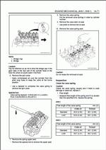 Isuzu Engine 4HK1, 6HK1, repair manual for ISUZU Engines