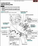 Honda Engines, service manuals and wiring diagrams, HONDA