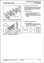 Mitsubishi Diesel Engines SQ-series, Service Manual of Mitsubishi SQ-Series diesel engines