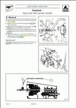 Massey Ferguson Tractors 6200 series, Workshop Service Manual for Massey Ferguson Tractors 6200