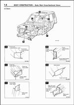 Mitsubishi Pajero iO, 1999, Body, Chassis, Wiring Diagrams
