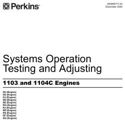 perkins 1104c 44t service manual
