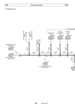 Tadano Rough Terrain Crane GR-700N-1, Circuit Diagrams and