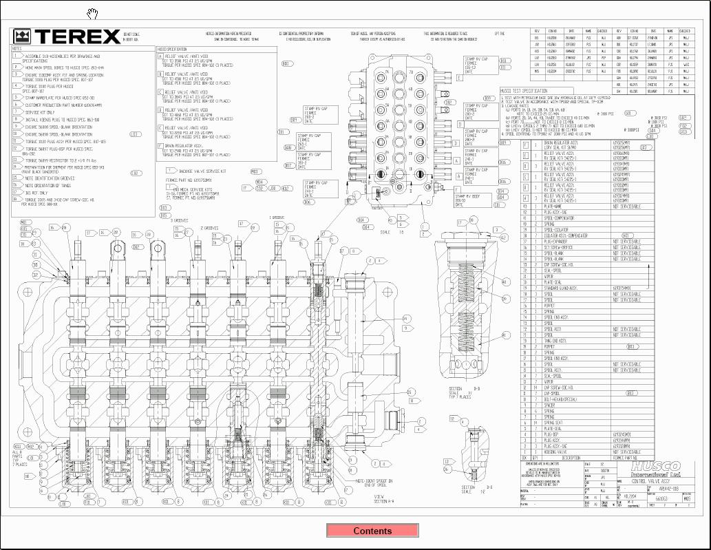 Terex Americas, service training Spare Parts Catalogs
