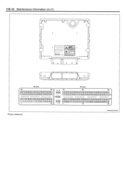 Isuzu Engine 4JJ1 Interim Tier4 Compatible models
