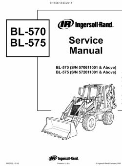 Bobcat Loaders Backhoes / Wheel Loaders, Service Manuals