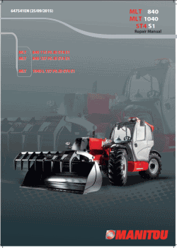 Manitou Workshop Manuals 2019, repair manuals for Manitou
