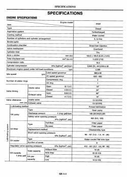 Mitsubishi 6d14 service manual