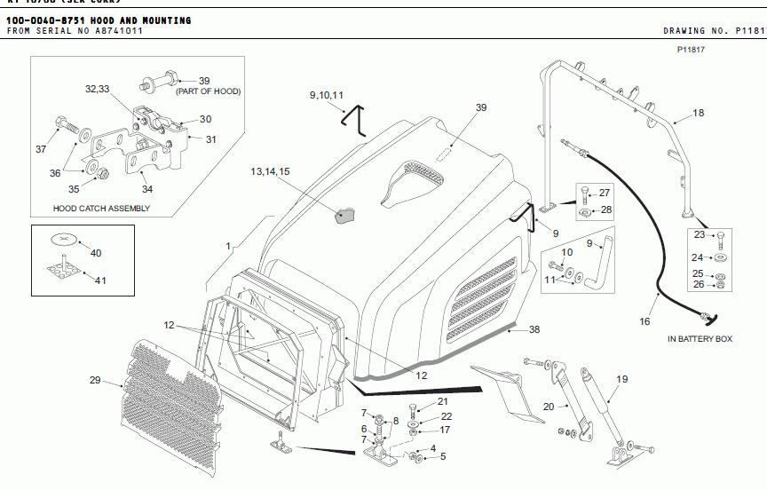 Terex Dumpers Trucks, spare parts catalogues, Terex Dumper